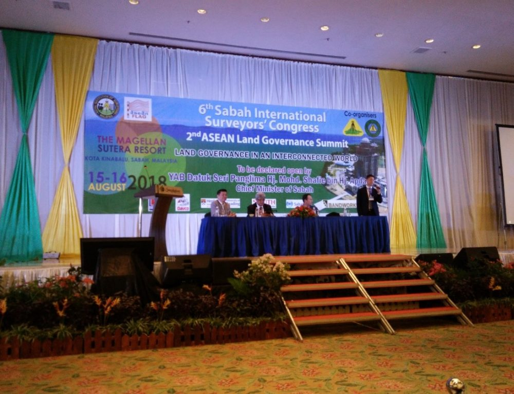 2nd ASEAN Land Governance Summit at Magellan Sutera Hotel, Sabah