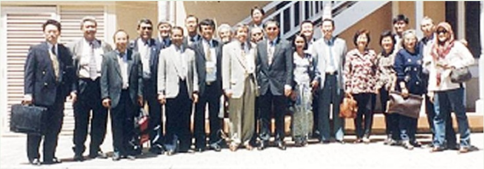 Participants of the first Biennial General Meeting (1999) in Fremantle, Western Australia