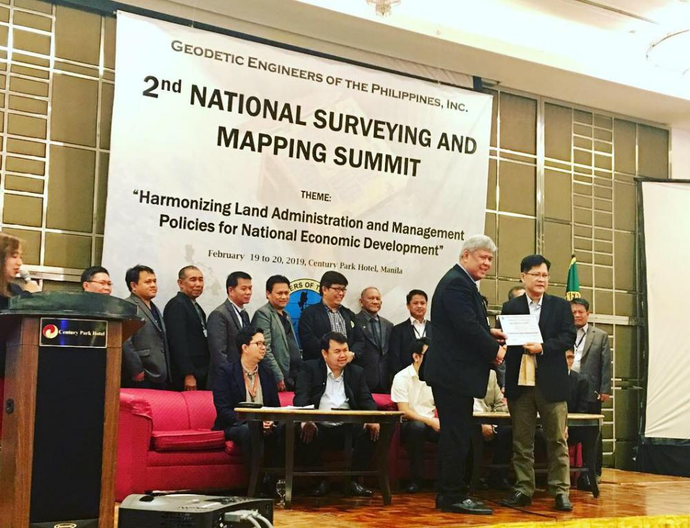 Second Philippine Surveying and Mapping Summit held in Manila