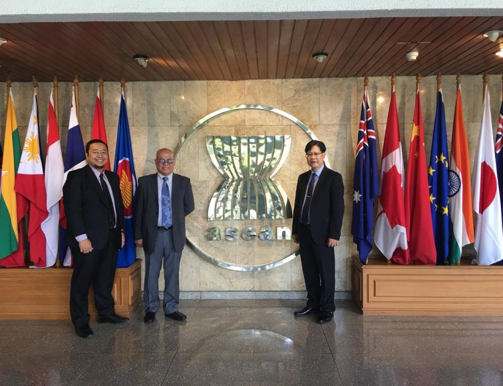visited at ASEAN Headquarters  – Indonesia