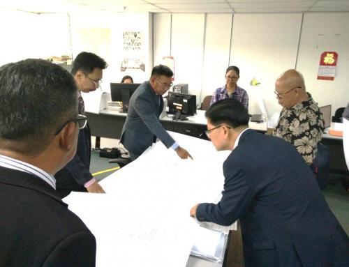 Visit to Surveys and Lands Department, Sabah, Malaysia