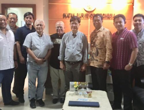 Visit to Ikatan Surveyor Indonesia, Jakarta, Indonesia